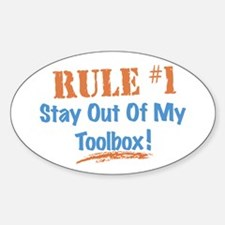 Toolbox Rules Decal