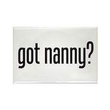 got nanny? Rectangle Magnet