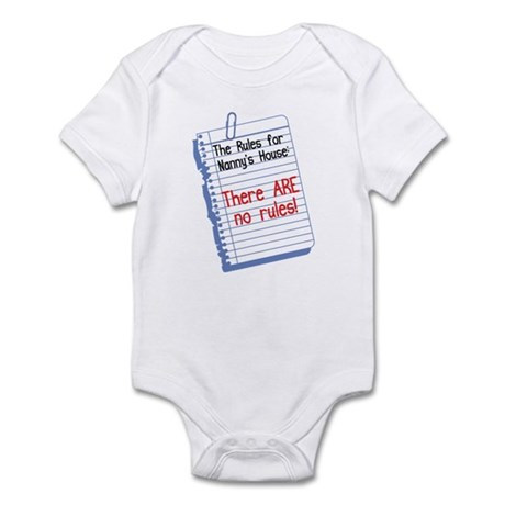 No Rules at Nanny's House! Baby Onesie
