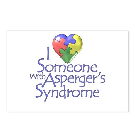 Someone w/Asperger's Postcards (Package of 8)