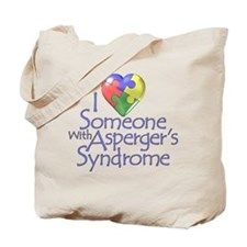 Someone w/Asperger's Tote Bag