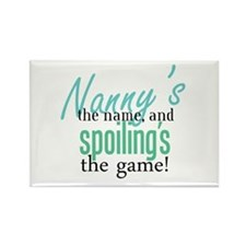 Nanny's the Name, and Spoiling's the Game! Rectang