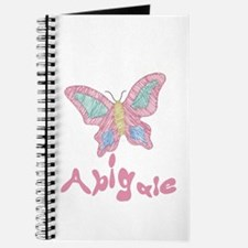 Pink Butterfly Abigale Journal