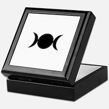 Cute Triple moon Keepsake Box