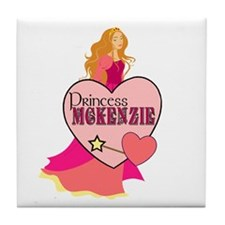 Princess McKenzie Tile Coaster