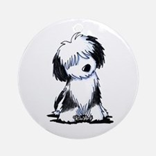 Tibetan Terrier Ornament (Round)