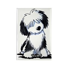 Tibetan Terrier Rectangle Magnet (10 pack)