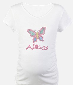 Pink Butterfly Alexis Shirt