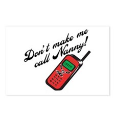 Don't Make Me Call Nanny! Postcards (Package of 8)