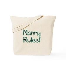 Nanny Rules! Tote Bag