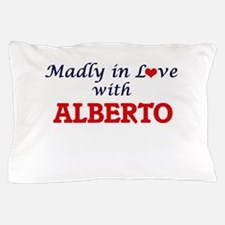 Madly in love with Alberto Pillow Case
