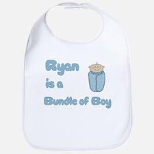 Ryan is a Bundle of Boy Bib