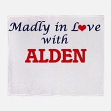 Madly in love with Alden Throw Blanket