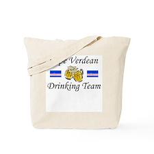 Cape Verdean Drinking Team Tote Bag