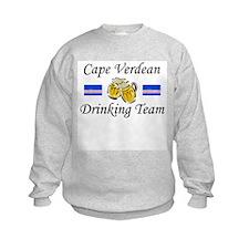 Cape Verdean Drinking Team Sweatshirt