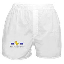 Cape Verdean Chick Boxer Shorts