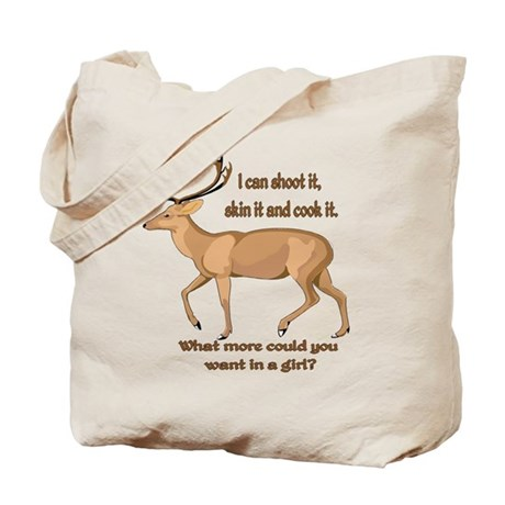 girl hunter Tote Bag
