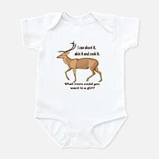 girl hunter Infant Bodysuit