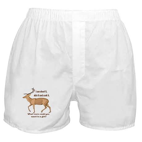 girl hunter Boxer Shorts