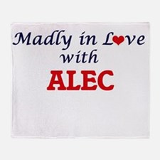 Madly in love with Alec Throw Blanket