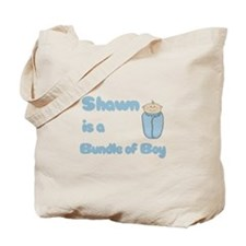Shawn is a Bundle of Boy Tote Bag