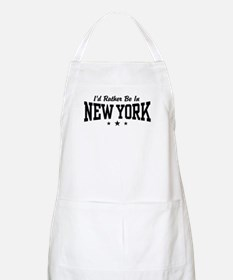I'd Rather Be In New York BBQ Apron