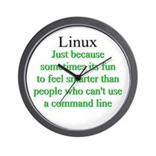 Funny Computer science Wall Clock