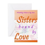 Birthday sisters Greeting Cards