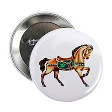 "Malachite Carousel 2.25"" Button (10 pack)"