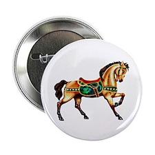 "Malachite Carousel 2.25"" Button (100 pack)"