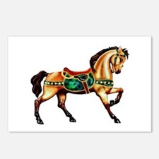 Malachite Carousel Postcards (Package of 8)