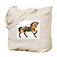 Malachite Carousel Tote Bag