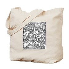 Infernal Punishment Tote Bag