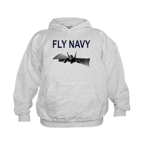 FLY NAVY Super Hornet Shirts Kids Hoodie