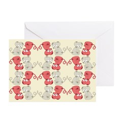 Rat Chinese New Year Art Greeting Cards (Pk of 20)