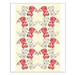 Rat Chinese New Year Art Small Poster