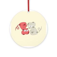 Rat Chinese New Year Art Ornament (Round)