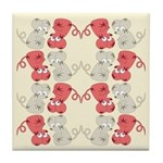 Rat Chinese New Year Art Tile Drink Coaster