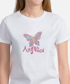 Pink Butterfly Angelica Tee