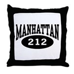 Manhattan 212 Throw Pillow