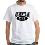 Manhattan 212 White T-Shirt