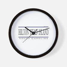 Cute Hilton head island Wall Clock