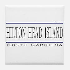 Cute Hilton head island Tile Coaster
