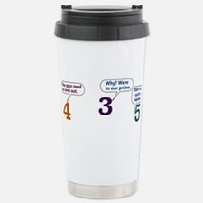 Cute Squares Travel Mug