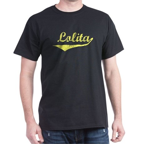 Lolita Vintage (Gold) Dark T-Shirt