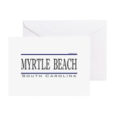 Cute Myrtle beach Greeting Cards (Pk of 10)