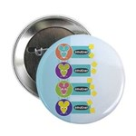 "Mod Year of the Rat 2.25"" Button (100 pack)"