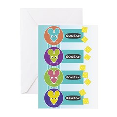 Mod Year of the Rat Greeting Cards (Pk of 20)