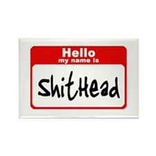 Shithead Rectangle Magnet