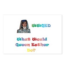 Purim WWQED Postcards (Package of 8)